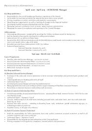 Retail Banking Resume Sample Operations With Bank Examples Personal Banker