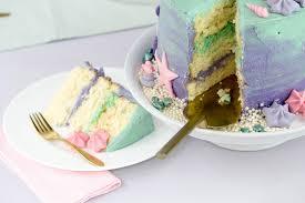 mermaid cake meerjungfrauentorte einfach selbst machen