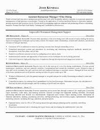 Dietary Aide Resume Samples Unique Assistant Manager Job Description Fresh Lovely Grapher