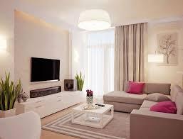 wohnzimmer in weiß und beige gehalten home entertainment