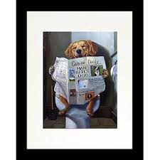 Surprising Ideas Dog Wall Art Plus You Ll Love Wayfair Gone Funny Reading Newspaper Lab Framed Graphic Print On Wood Canvas Stickers Sayings Quotes Decor