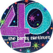 40th birthday party themes supplies 40th birthday ideas
