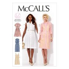 Mccall Pumpkin Patch 2017 by Mccalls Pattern M6696 Cute Shirtdress With Cup Fitting Options On