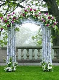 Altar Arch Arrangements Chuppah Indoor Ceremony Outdoor Wedding Photos Pictures