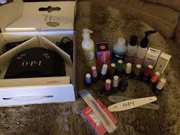 opi led l with 13 gel colours accessories in whyteleafe