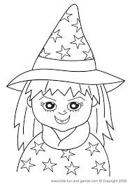 Our Cute Witch Is Just One Of Kids Halloween Coloring Sheets Free For You To Enjoy Your Next Party Or Some Simple Fun