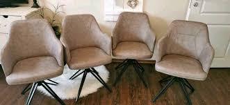 4 x drehstuhl neuware esszimmer stuhl sessel
