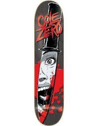 zero cole horror deck 7 75 skateboard decks