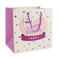 Ladies Happy Birthday Gift Bag Medium By Leonardo Collection