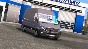 100 Euro Truck Sim Mods Mercedes Benz Sprinter Cdi311 2014 Mod Ulator 2