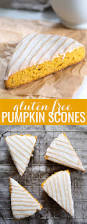Pumpkin White Chocolate Chip Scones by Iced Gluten Free Pumpkin Scones U2014perfect For Fall
