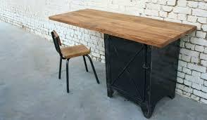 bureau m騁allique industriel bureau style industriel en metal et bois cleanemailsfor me