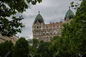 100 Liberty Residence Budapest Hungary Beautiful Building In Square Fragment