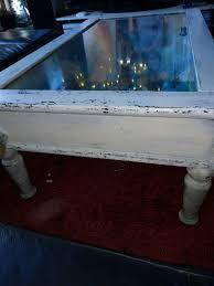 couchtisch mit vitrine zum aufklappen shabby in 41836