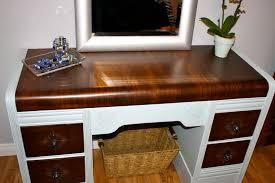 Waterfall Vanity Dresser Set by Makemeprettyagain The Horrendous Waterfall Desk