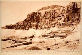 100 In The Valley Of The Kings 1923 Rotogravure Deir ElBahari Of The Luxor Egyptian