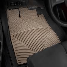 WeatherTech® W36TN - All-Weather 1st Row Tan Floor Mats