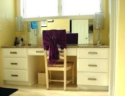 Bath Vanities With Dressing Table by Bathroom Vanity With Makeup Table U2013 Martinloper Me