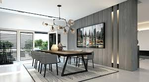 Modern Grey Dining Table Room Chairs The Fabulous Wall Color Paint Amusing Black