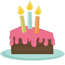 Sponge Cake clipart birthday cake slice 8 394