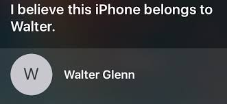 How to Find a Lost iPhone s Owner by Asking Siri