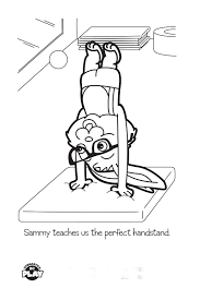 Image Of Printable Gymnastics Coloring Pages