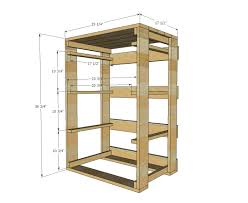 Free Closet Organizer Plans by Ana White Build A Pallet Laundry Basket Dresser By Pallirondack