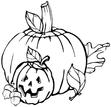 Scarecrow Clipart Black And White For Kids