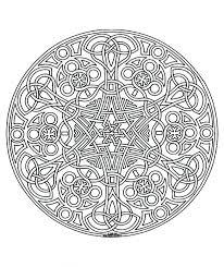 Mandalas Navidenas Coloreadas Mandala Color Adult Difficult La Advanced Coloring Pages Pdf Coloredas Medium Size