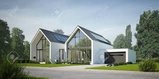 100 Semi Detached House Design Modern Semidetached House