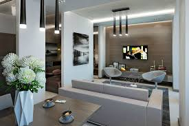 Modern Apartment Living Room Design Small