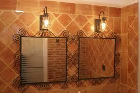 Rustic Bathroom Lighting Ideas by Bathroom Rustic Bathroom Vanity With Elegant Rustic Bathroom