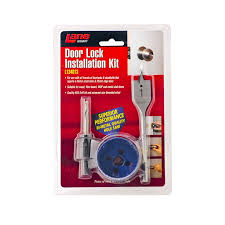 lane security 54mm door lock installation kit bunnings warehouse