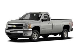 100 Single Cab Chevy Trucks For Sale 2007 Chevrolet Silverado 2500HD Work Truck 4x2 Regular 8 Ft Box 133 In WB Pricing And Options
