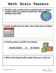 Halloween Brain Teasers Worksheets by Best 25 Printable Brain Teasers Ideas On Pinterest Kids Brain