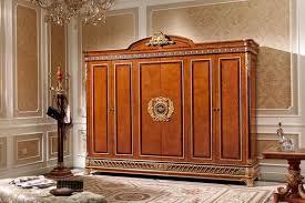 kleiderschrank schlafzimmer e62 holz schrank antik stil barock rokoko schränke