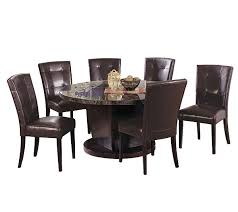 Round Black Marble Dining Room Set By Acme Furniture QVC