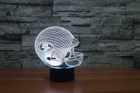 wholesale 2017 3d 49 ers team logo led usb l san francisco