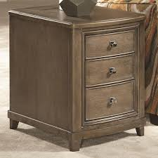 American Drew Park Studio Chairside Table with 3 Drawers and