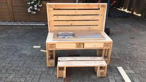 outdoor küche für kinder aus europaletten ebay