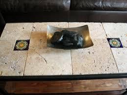 rustic tile coffee table hgtv