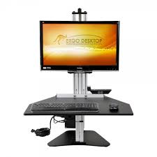 Kangaroo Standing Desk Imac by Sit Stand Desk Ergotron Workfit Ergonomics Now