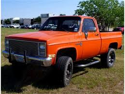 100 1981 Chevy Truck For Sale Chevrolet K10 4X4 PICKUP For ClassicCarscom CC532833