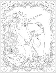 Unicorn Coloring Pages For Adults As Well Welcome To Publications