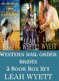 Western Mail Order Brides 3 Book Box Set