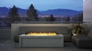 Exterior Gas Fireplace
