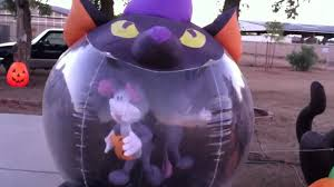 Inflatable Halloween Cat Archway by Airblown Inflatables Halloween