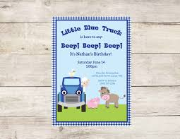 Little Blue Truck Birthday Invitation Little Blue Truck Dump Truck Party Invitations Cimvitation Nealon Design Little Blue Truck Birthday Printable Little Boys Invites Monster Cloveranddotcom Fireman Template Best Collection Invitation Themes Blue Supplies As Blue Truck Invitation Little Cstruction Boy Vertaboxcom Bagvania Free