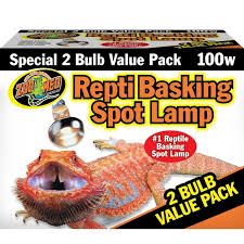 Bearded Dragon Heat Lamp Wattage by Zoo Med Zoo Med Repti Basking Spot Lamp With Uva Reptile