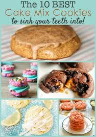 Cake Mix Pumpkin Cookies by The Best Cake Mix Cookies To Sink Your Teeth Into The Weary Chef